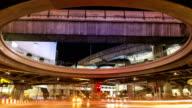Time-lapse op moment van de nacht.