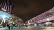 Time-lapse op moment van de nacht