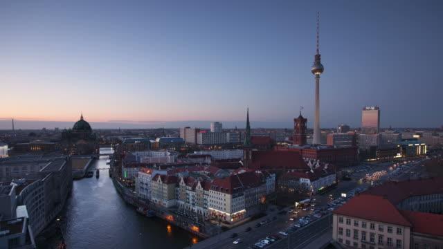 Time lapse: Berlin Skyline