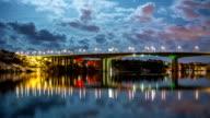 HD-Zeitraffer: Bridge-REFLEKTIONEN