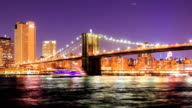 HD Time Lapse : Brooklyn bridge