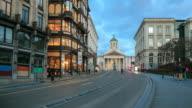 4 K Zeitraffer : Kathedrale Chapelle Belgien