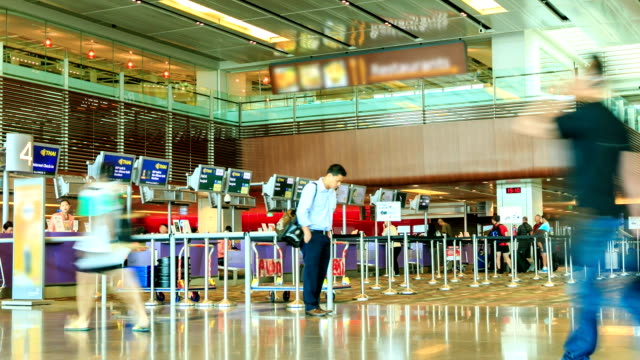 Time lapse : Changi International Airport