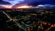 4 K Zeitraffer-Stadt bei Nacht