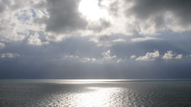 Time Lapse Clouds at Sea