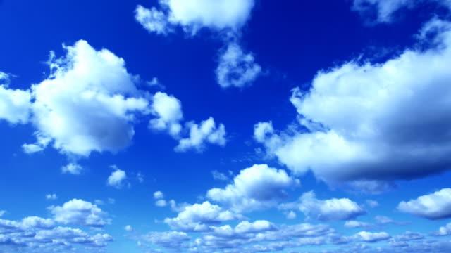 Time lapse cloudscape