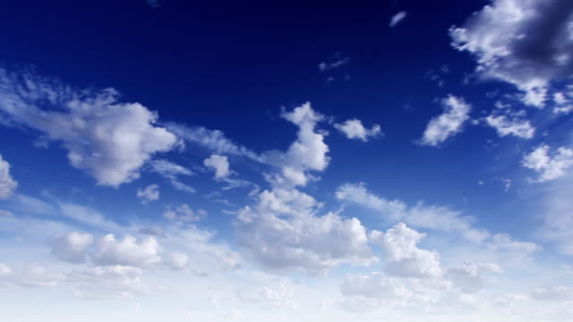 Zeitraffer Wolkengebilde