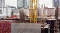 Time Lapse Construction : 4K TIME LAPSE (4096x2160) : The construction site (Apple ProRes. 422(HQ))