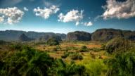 Zeitraffer Kuba Landschaft Valle de Vinales