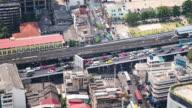 Time Lapse - Downtown Traffic in Bangkok (Panning)