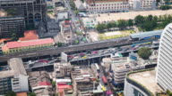 Time Lapse - Downtown Traffic in Bangkok