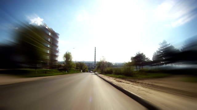Time lapse: Driving