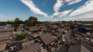 Time Lapse- Drum Tower and Hutong in Beijing