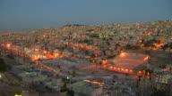 Time Lapse Evening Amman Jordan