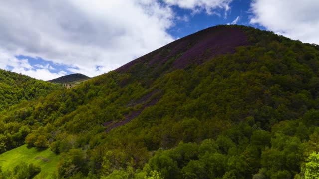 Time Lapse Fuentes del Narcea Degana e Ibias Natural Park  Asturias  Spain  Europe