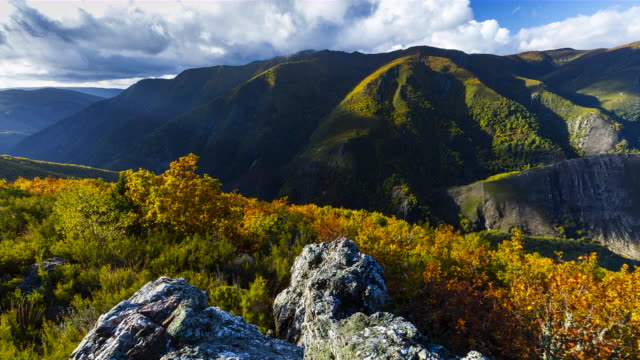 Time Lapse Fuentes del Narcea Natural Park, Degana, Asturias, Spain