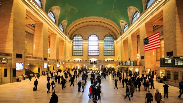 4K Time Lapse : Grand Central Station