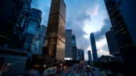 Time Lapse Hongkong at dusk