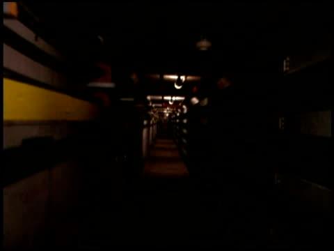 Time lapse in corridor