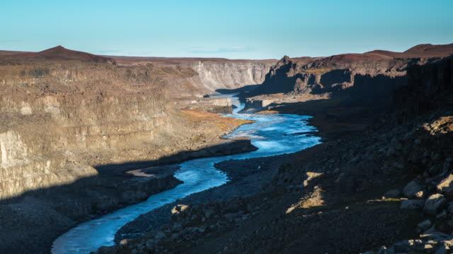 Time Lapse: Jokulsargljufur Canyon in Iceland