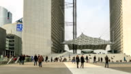 HD Time Lapse : La Defense in Paris