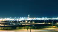 Zeitraffer Flughafen Los Angeles (LAX