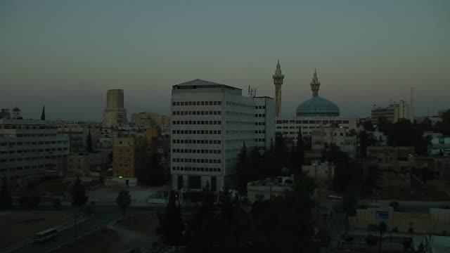 Time Lapse Morning Shot Amman Jordan