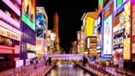 HD Time Lapse : Namba Zone in Osaka