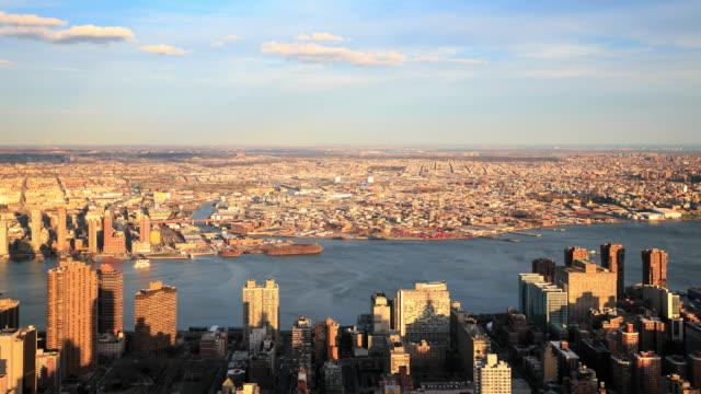 4 K intervallo di tempo : Skyline di Nuovo York Città