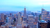 HD Time Lapse : New York skyline