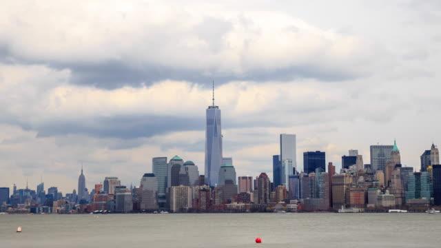 4K Time Lapse : New York Skyline