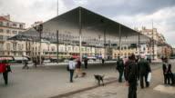 Intervallo di tempo 4k : Norman Foster del pavilion a Marsiglia
