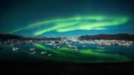 Time-lapse: Noorderlicht over