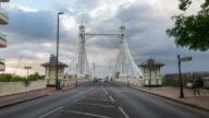 LONDON: Time lapse of Albert Bridge in Chelsea
