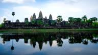 Time lapse of Angkor Wat, Siem Reap, Cambodia