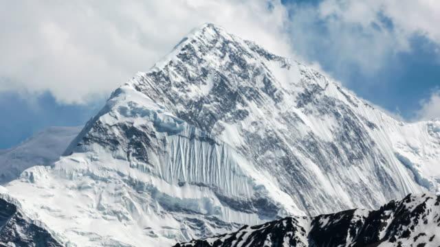 Tid förflutit över Annapurna bergen, Himalaya, Nepal