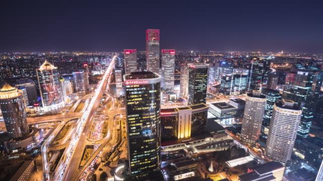 Time Lapse of Beijing Skyline