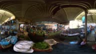 360 Time Lapse Of Covered Market In Mumbai