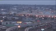 Time Lapse Of Downtown New Orleans In The Early Evening
