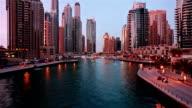 Time lapse of Dubai Marina