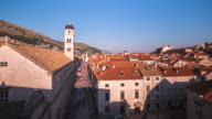 Time Lapse of Dubrovnik Old Town in Croatia