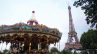 CNEUTRV1093 Zeitraffer des Eiffelturms