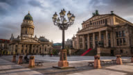 Time Lapse of Gendarmenmarkt in Berlin, Germany