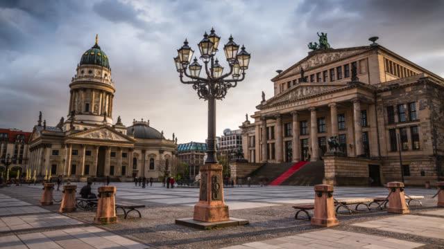 Time Lapse of Gendarmenmarkt in Berlin, Germany