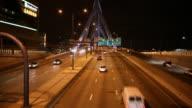 Time Lapse of Highway/Bridge