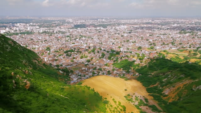 Time lapse Of Jaipur Pink City