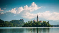 Time Lapse of Lake Bled in Slovenia