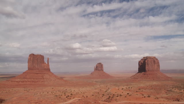 Time Lapse of Monument Valley, Utah, USA