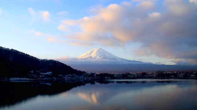 Time lapse of Mt Fuji - Stock Video