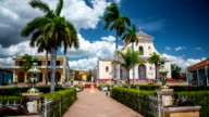 Time Lapse of Plaza Mayor in Trinidad Cuba